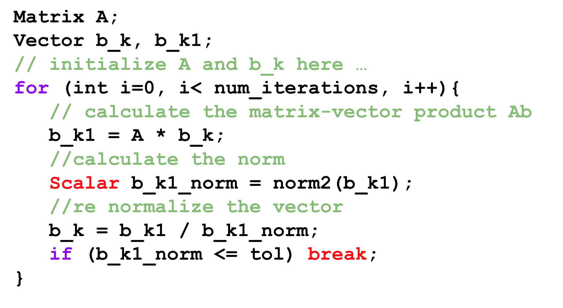 Utopia - a performance-portable C++ library for non-linear algebra